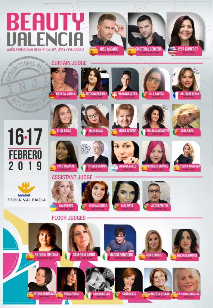 Beauty Valencia Competición de uñas INJA 2019